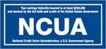 National Credit Union Administration logo in blue